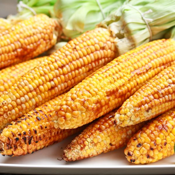 Grilled Corn with Smokey Lime Mayo via @spicyperspectiv