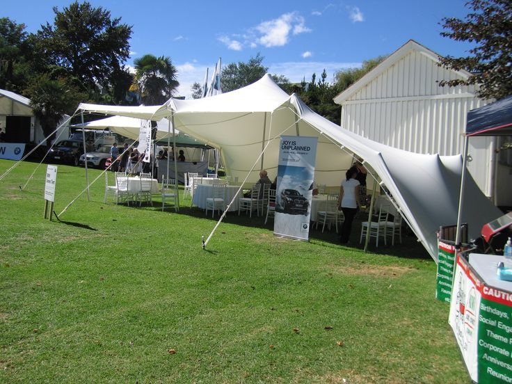 BMW corporate Tent at the  Jazz Festival