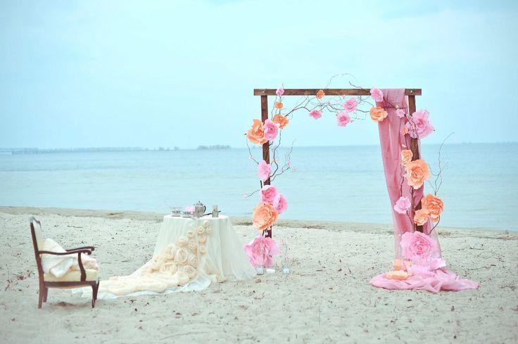 Свадьба на пляже. Yastrebdecor