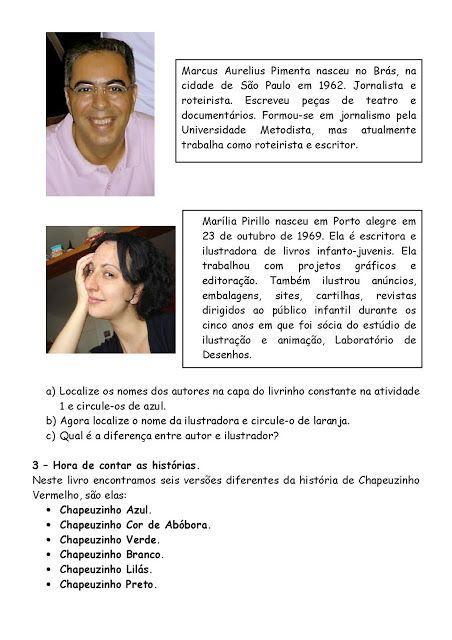 SEQUÊNCIA DIDÁTICA: CHAPEUZINHOS COLORIDOS - SÓ ESCOLA
