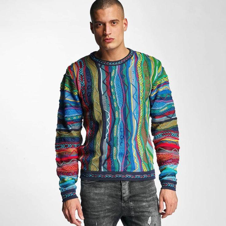 #Herren Coogi Männer Pullover New Native in bunt, 00806362013050