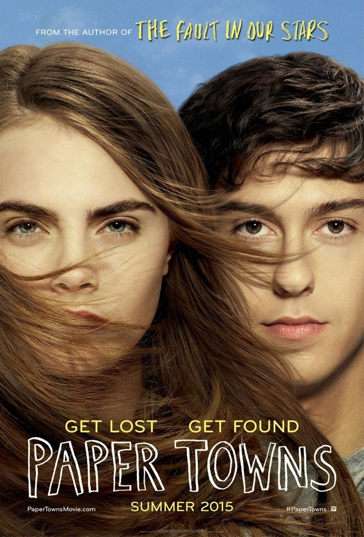 Cara Delevingne + Nat Wolff on 'Paper Towns' Movie 2015