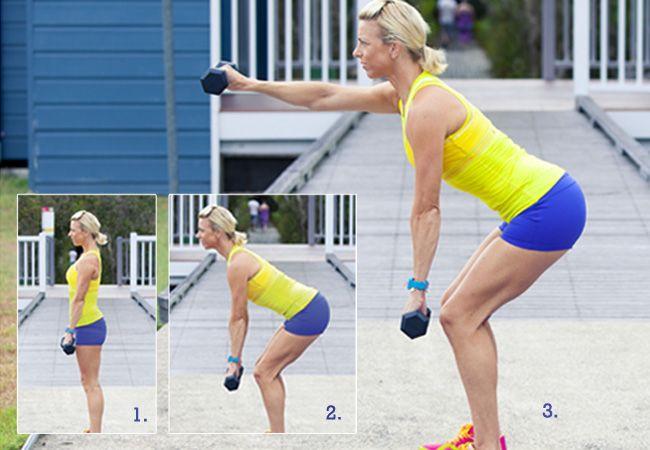 7 best dumbbell exercises for women - Dumbbell workout - Women's Health  Fitness