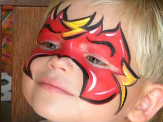 Life with Kara and Cooper:Super hero Face paint