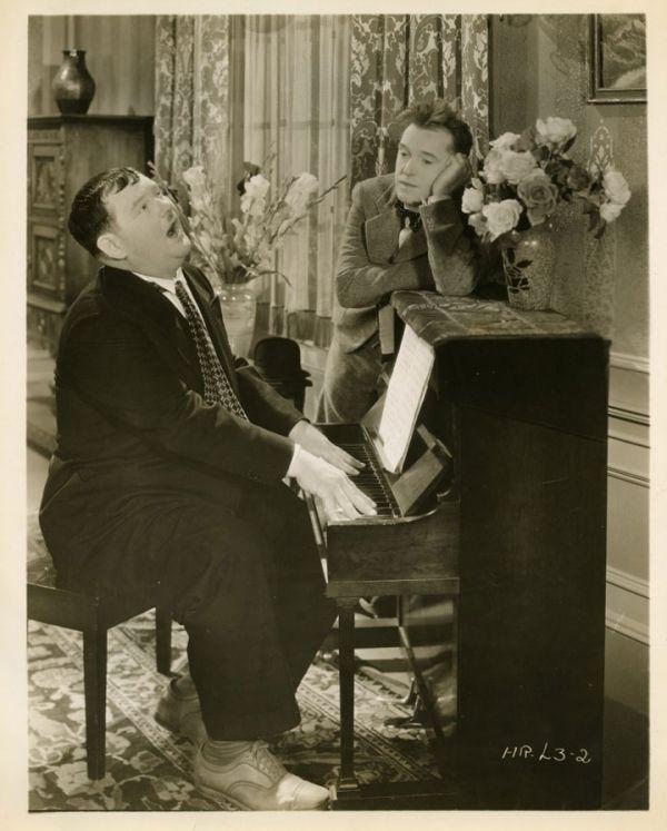 """Laurel and Hardy ~ """"Beau Hunks"""" (1931)"""