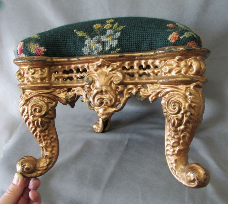 Very Old Foot Stools Very Pretty Antique Victorian