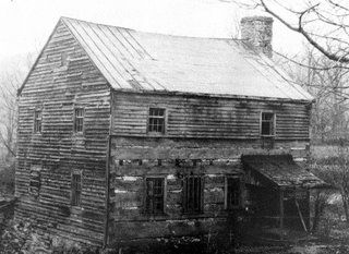 Garst Fort, located in the Green Ridge section of Roanoke County, from Swimming Upstream: The Importance of Being Garst [see three pins of this building, called Fort Greenridge in Roanoke City Library collection]