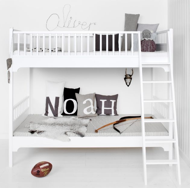 Styling for Oliver Furniture_bunk bed / Nordisk Rum by Pernille Grønkjær Taatø / www.blog.nordiskrum.dk