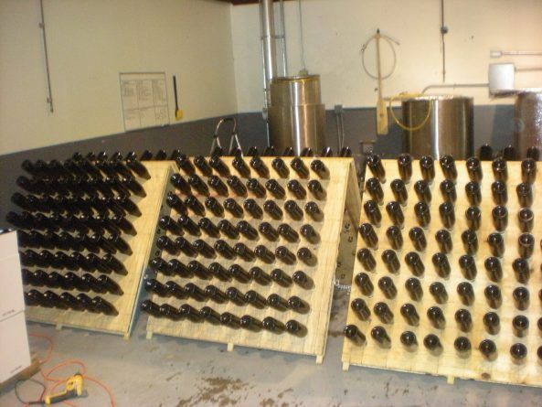 1000 images about brewing on pinterest for Diy wine bottle storage