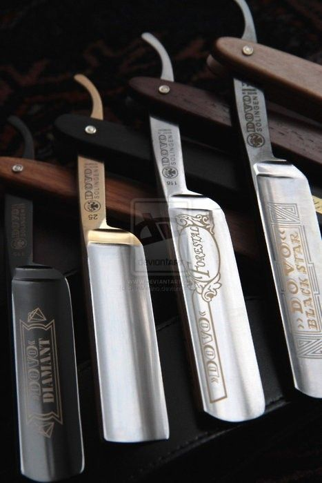 Every man should know how to use a straight razor...