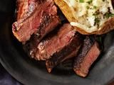 Cocoa-Rubbed Steak With Bacon-Whiskey Gravy