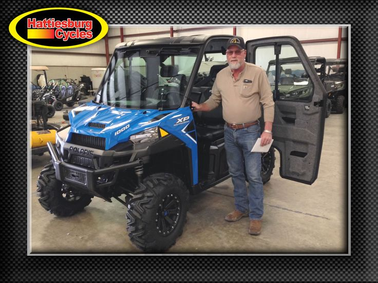 Thanks to Danny Smith from Richton MS for getting a 2017 Polaris Ranger XP 1000 Northstar Edition. @HattiesburgCycles