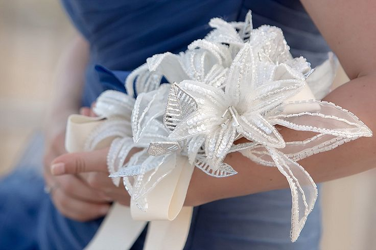 Bouquet ricamato, non floreale | Non floreal bouquet | by Angela Home Design (Angela Casarte)