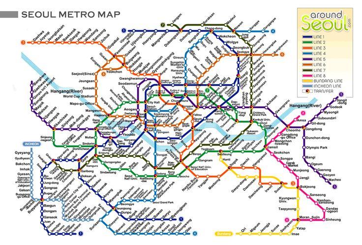 Seoul, I love near the top left loop