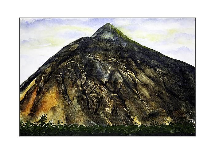 Mount Teide Tenerife Greeting Card by Esther Willsher