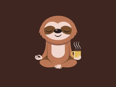 Best 25 sloth tattoo ideas on pinterest animal tattoos - Sloth wallpaper phone ...
