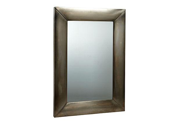 Iron Rectangular Mirror - over kitchen sink?