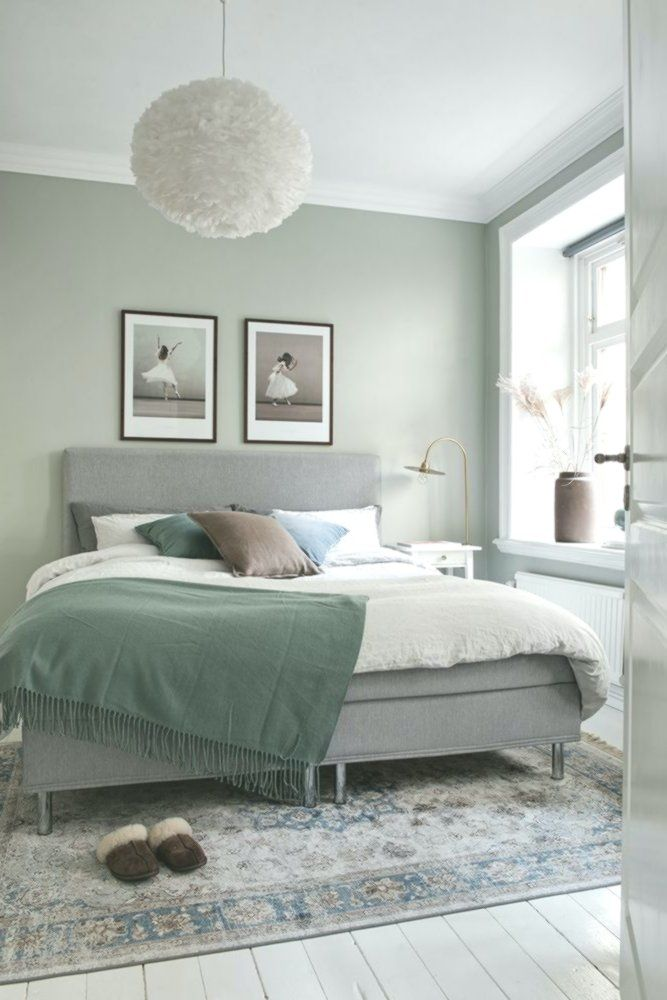 A Green Room Sage Green Bedroom Green Master Bedroom Green