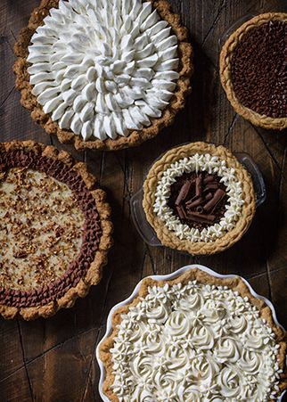 We partnered with Naomi Robinson, founder of Bakers Royale to bring you two chocolate cream pie recipes sure to satisfy your sweet tooth.