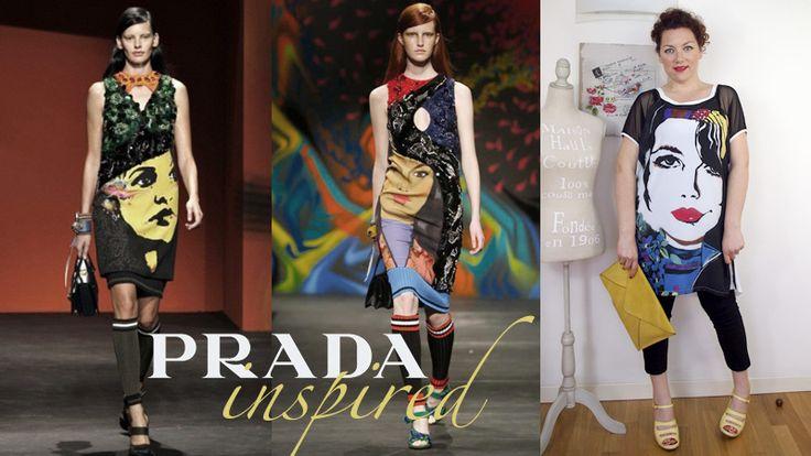 #curvy #outfit con maxi tunica Keyrà ispirato alla sfilata #ss2014 di #Prada   #fashionblogger #curvyblogger #curvyblog #faceprint #curvygirl