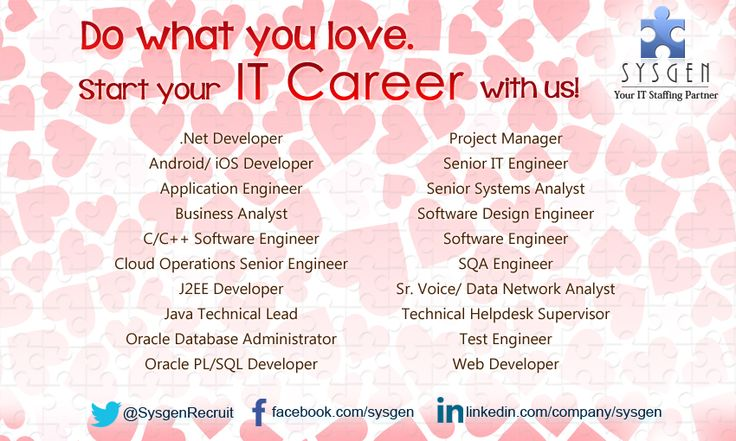 Color your IT Career! Weu0027re looking for C C++ Software Engineer - filenet administrator sample resume