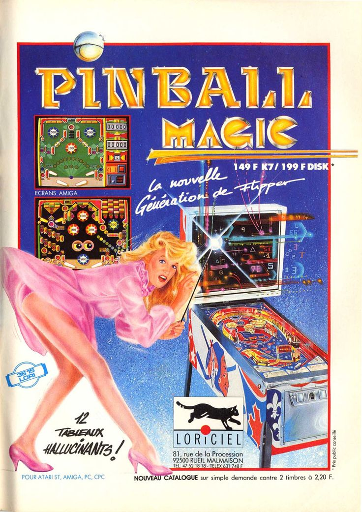 Pinball Magic (1990) What the hell!?!
