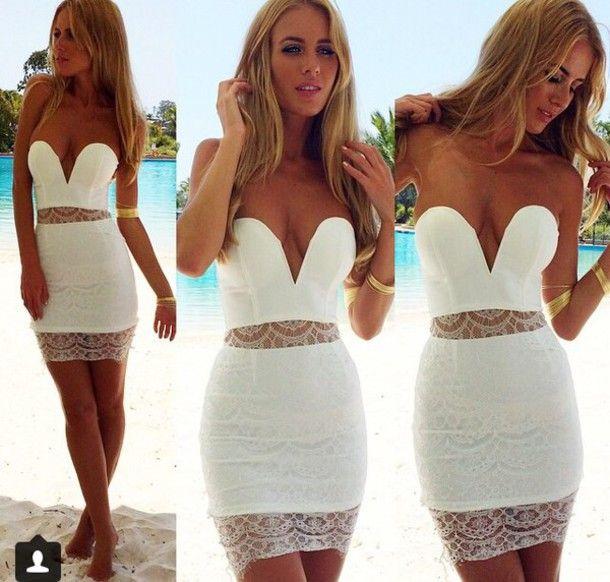 Πάνω από 25 κορυφαίες ιδέες για Homecoming dresses short tight ...