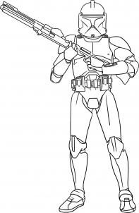 How to Draw a Clone Trooper, Step by Step, Star Wars Characters, Draw Star Wars, Sci-fi, FREE Online Drawing Tutorial, Added by Dawn, November 19, 2009, 7:36:15 am