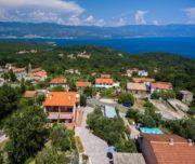 Ferienwohnung Vrsek mit Meerblick in Risika auf Krk, Kroatien