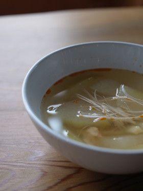 薬膳レシピ】三鮮冬瓜スープ by あきゅらいず美養品 [クックパッド ...