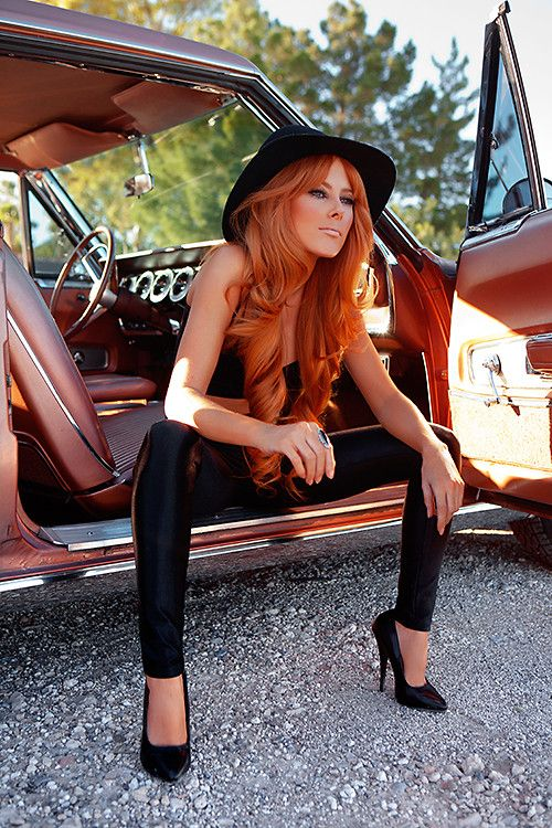 Candace Campbell has amazing ginger hair - love it x