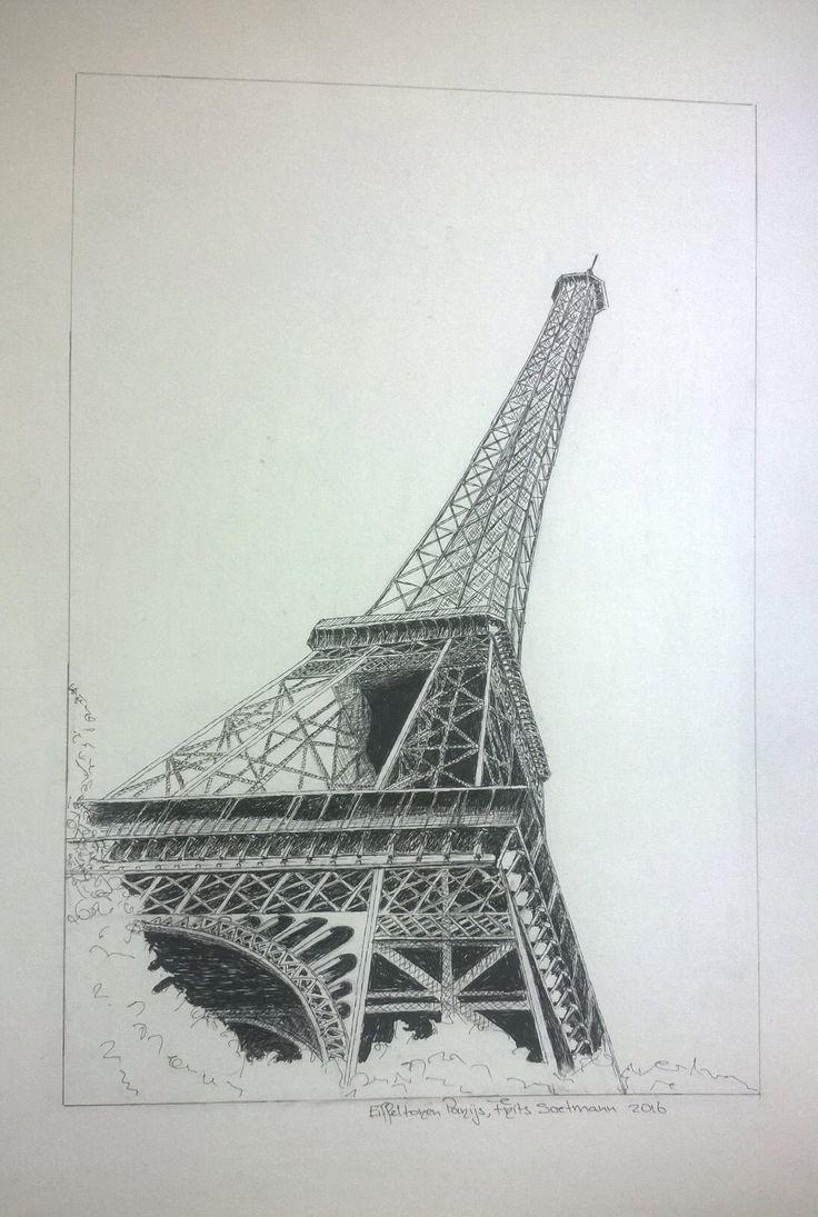 """Prject """"City-Monuments"""" Eiffeltower, Paris, France"""