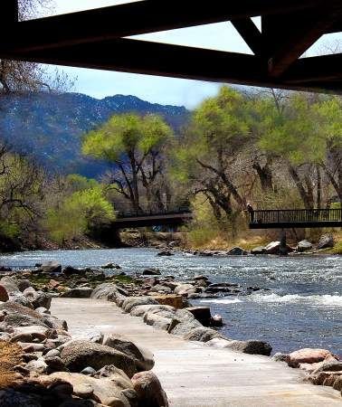 Riverwalk follows river for 8 miles through Canon City, CO...a wonderful place to walk! - Pueblo Chieftain article