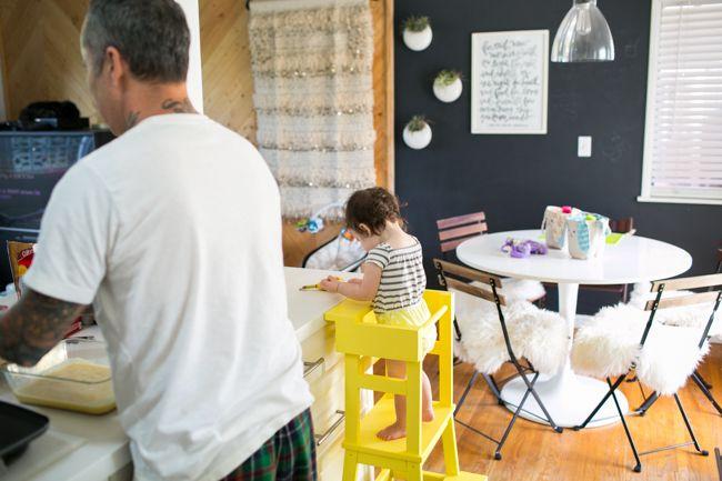 LEARNING TOWER DIY - Sun + Daughter