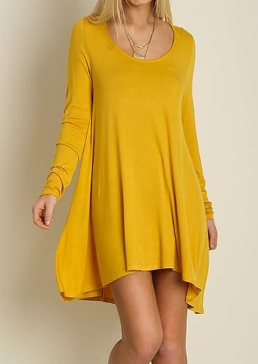 Must have tunic dress in natural color (Also available in natural, black, wine…