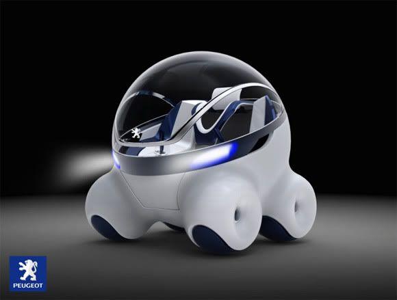 Novo carro Conceito da Peugeot tem design futurista de encher os olhos! | ROCK'N TECH