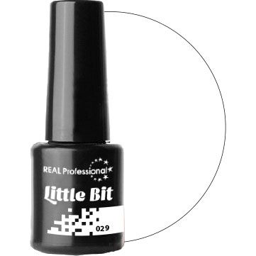 Гель-лаки LittleBit Real Professional - качественные профессиональные гель-лаки представляют собой альтернативу обычному лаку. Палитра из насыщенно-красочных, глиттерных и перламутровых цветов обладает сияющим глянцевым блеском и отсутствием неприятного запаха. Превосходно держатся на ногтях до трех недель и не теряют при этом яркость. Гели-лаки LittleBit легко наносятся, быстро сохнут, не растрескиваются, не отслаиваются, не теряют выразительности цвета.