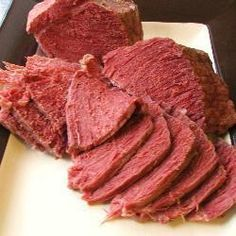 Dad's corned beef - British version using silverside beef joint