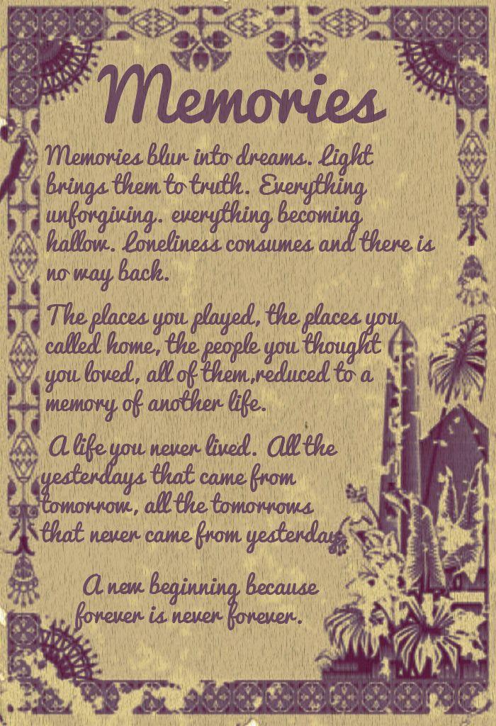 Poema Memories