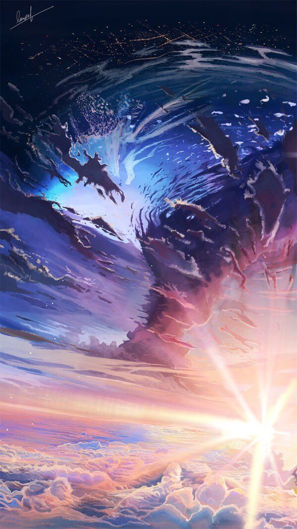 Banishment On Twitter Fantasy Art Landscapes Anime Backgrounds Wallpapers Anime Scenery Beautiful scenery anime wallpaper