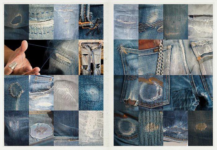 Nordstrom Men's Blog // Nudie Jeans: How to Repair Your Pair