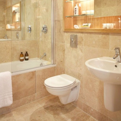 Light Colored Granite For Bathroom: 24 Best Light/Medium Mix Travertine Images On Pinterest