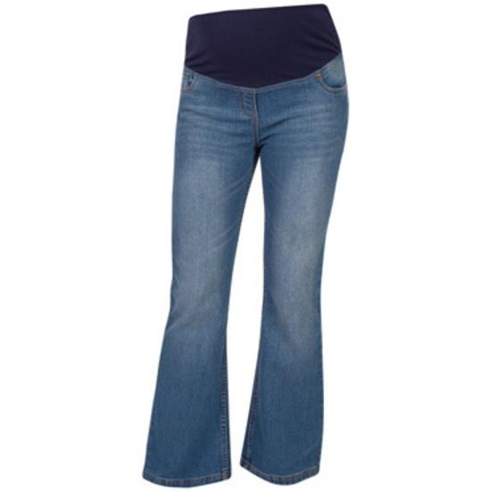 JoJo Maman Bébé  Bootleg Maternity Jeans - Indigo