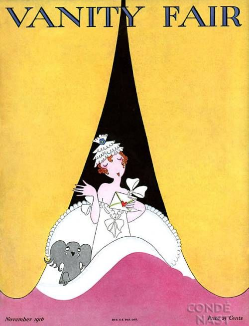 Vintage Vanity Fair Covers-  Wonderfully humorous and mischievous Vanity Fair covers by A.H. Fish...