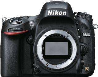 Cámara réflex Nikon D610, body