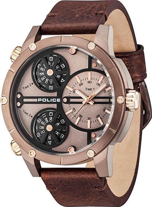 Police P14699jsbn12 Wt Reloj De Pulsera Hombre Ok Relojes Police Reloj De Pulsera Hombre Reloj Analogico