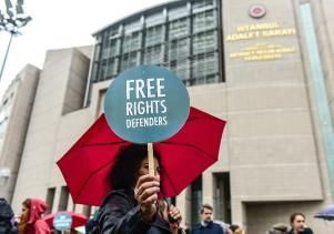 Istanbul court orders release of 8 human rights activists