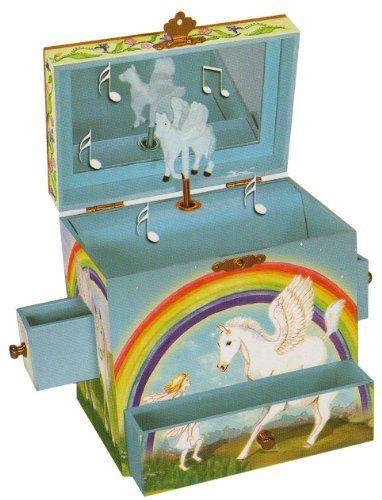 """ENCHANTMINTS B1201 - Spieluhr """"GR 4 Pegasus / Moonlight Sonata"""" (Spieldose, Musikdose, Spieluhren, Spieluhr mit Pferd, Pegasus) das ideale Geschenk zur Geburt, Taufe, Geburtstag, Namenstag oder zwischendurch als Mitbringsel, Aufmerksamkeit, Überraschung, Dankeschön, Gruss Enchantmints http://www.amazon.de/dp/B001IK68WA/ref=cm_sw_r_pi_dp_PgW7ub1J92MGN"""