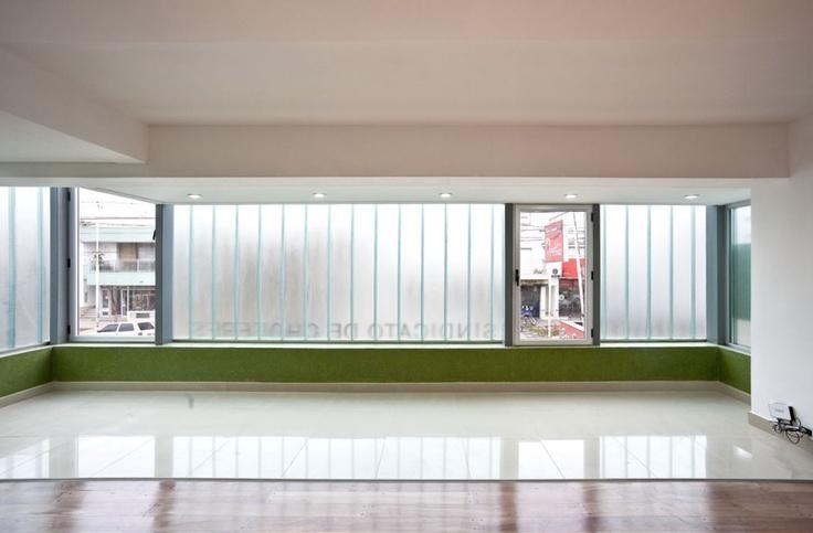 Proyecto sindicato de choferes estudio piccini for Estudios de arquitectura la plata