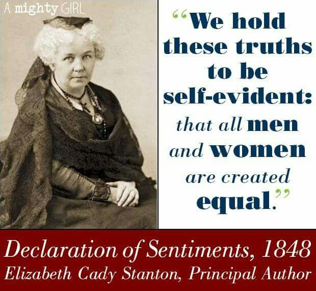 Elizabeth Cady Stanton Quotes: 17 Best Images About Inspirational Women On Pinterest